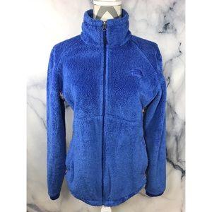 The North face osito fleece Zipup jacket sz L Blue
